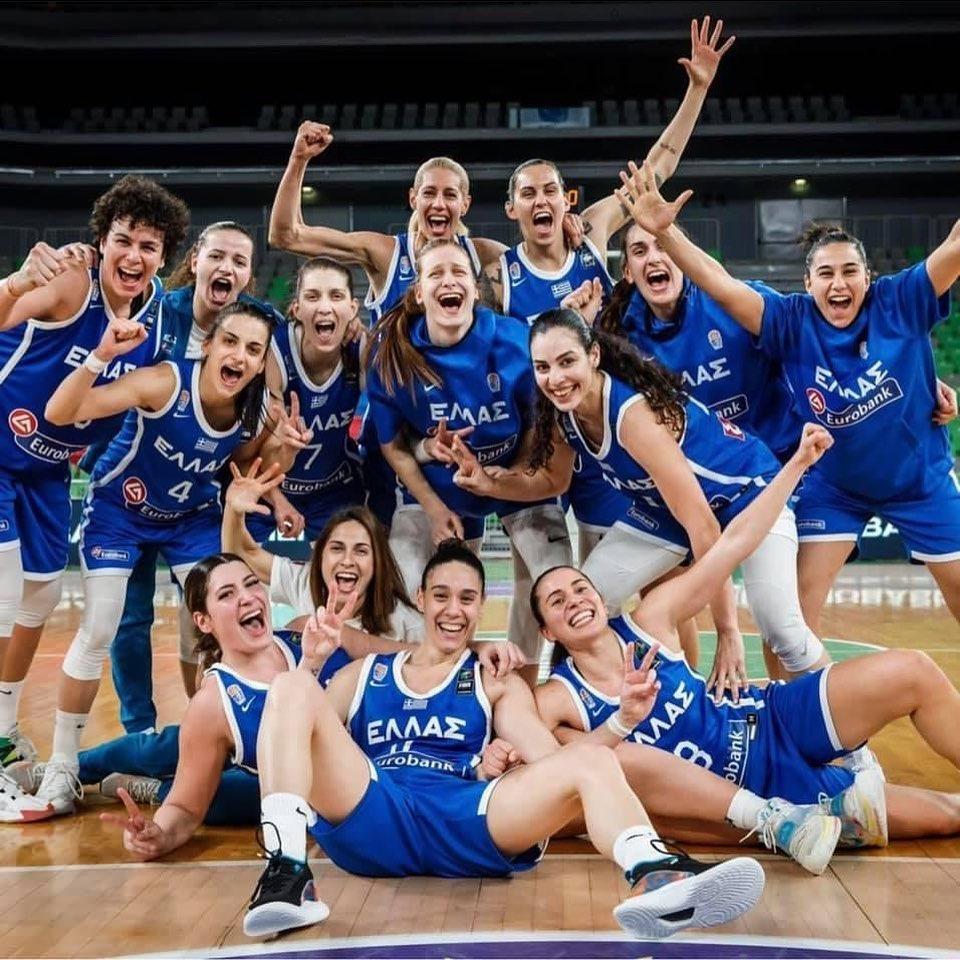 Greece qualified to Eurobasket 2021! Congratulations to our Vasiliki Louka & Angeliki Vintsilaiou!