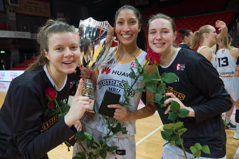 Luna-Castro is Lithuanian Cup Champion!