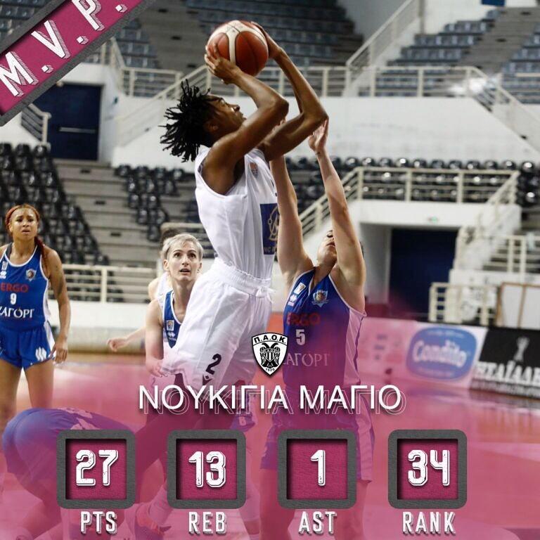Nukiya Mayo is the Player of the Week in Greece!